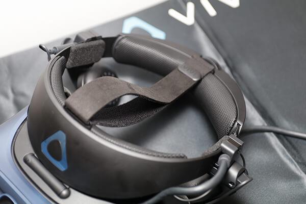 VIVE COSMOS 新素材採用のフェイスクッション・ストラップ・ヘッドレスト