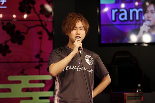 令和ゲーミング R6S部門のコーチを務めるramu選手