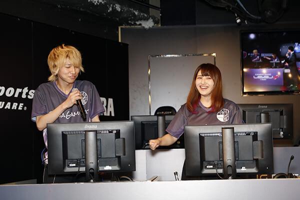 ニョス選手に喝を入れる017_Reinaさん