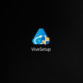ViveSetupアイコンをダブルクリック