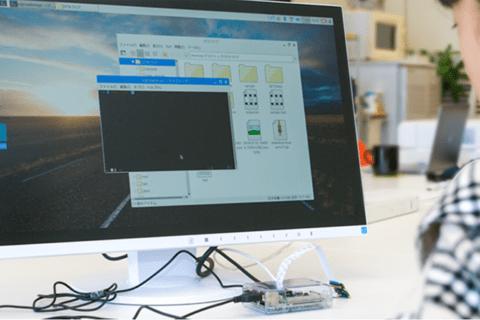 Raspberry Pi の初期設定とPython プログラムの書き方のイメージ画像