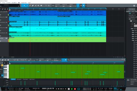 初心者でも安心。音符が読めなくても楽曲作りができる「Studio One」解説のイメージ画像