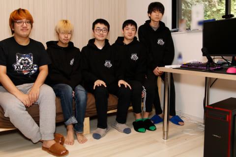ゲーミングハウスを設立したプロゲーミングチーム CrazyRacoonメンバーにインタビュー!のイメージ画像