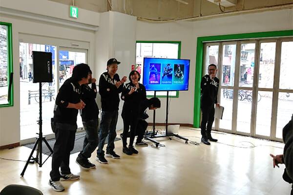 中川(以下略)選手の進行で進められたオープニングトーク