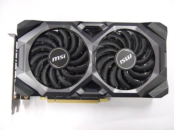 MSI Radeon RX 5600XT MECH OC の外観