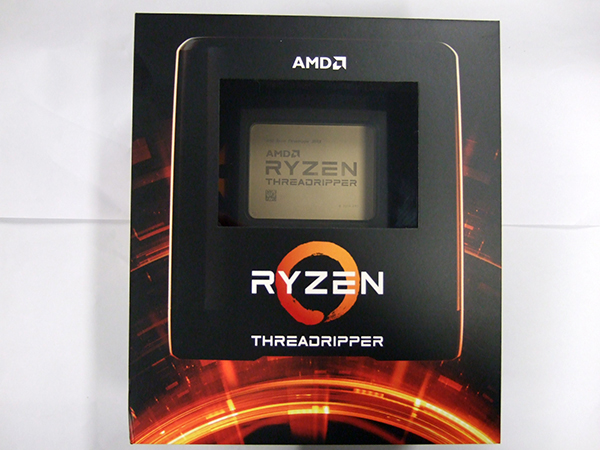 Ryzen Threadripper 3990Xのパッケージ
