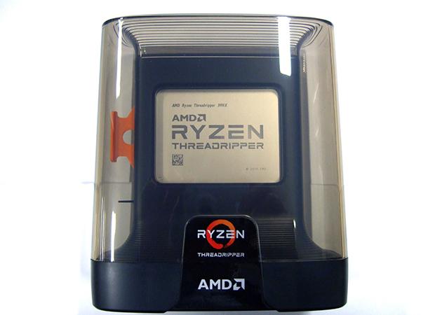 Ryzen Threadripper 3990X パッケージの中身