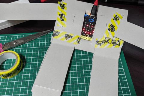 超初心者でも簡単!micro:bitで表情が変わるロボットを作ろうのイメージ画像