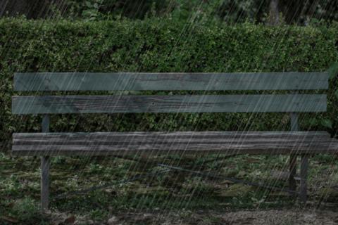 Photoshopのカスタマイズブラシで写真に雨を降らせるのイメージ画像