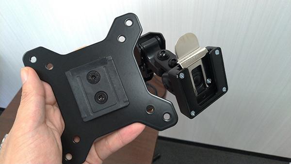 DA-ARMSアタッチメントと取り付け部分
