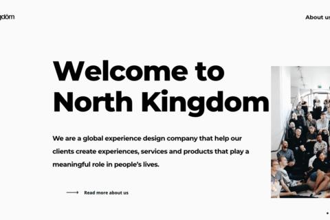世界的デザインエージェンシー、スウェーデンのNorth Kingdomにインタビューのイメージ画像