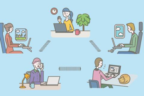 都内事業者向け:事業継続緊急対策(テレワーク)助成金についてのイメージ画像
