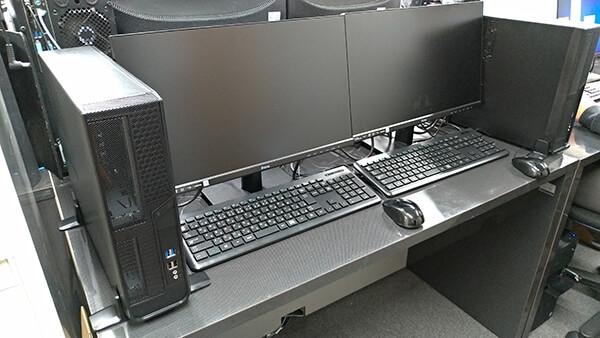 HDDとSSDの比較の検証環境