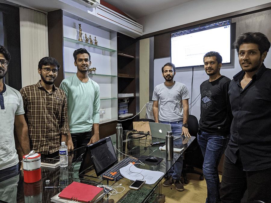 オフショアで松村さんが交流しているインド人技術者たち