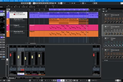 Cubase Elementsの内蔵ソフトウェア音源の使い方のイメージ画像