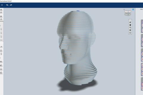 Fusion360プラグインSlicerでレーザー加工用データ作成のイメージ画像