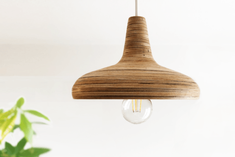 Fusion360とSlicerで作る木製ランプシェードのイメージ画像