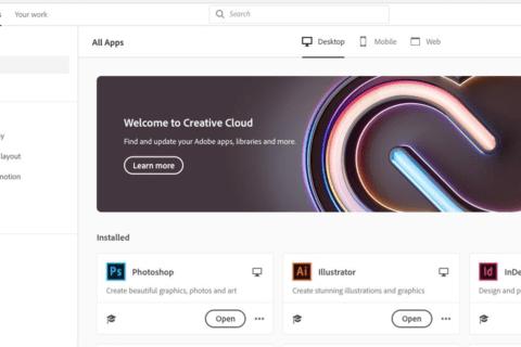 Adobe Creative Cloudをもっと使いこなそうのイメージ画像