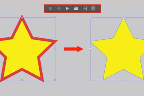 Illustrator、アクションの活用で作業を効率化のイメージ画像