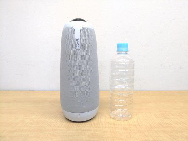 ミーティングオウル プロと600mlペットボトルとの比較