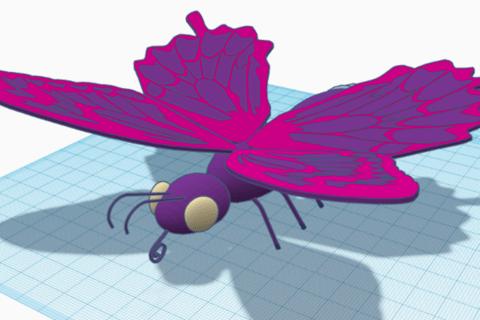 Autodesk Tinkercadで始める3Dモデリング-応用編-のイメージ画像