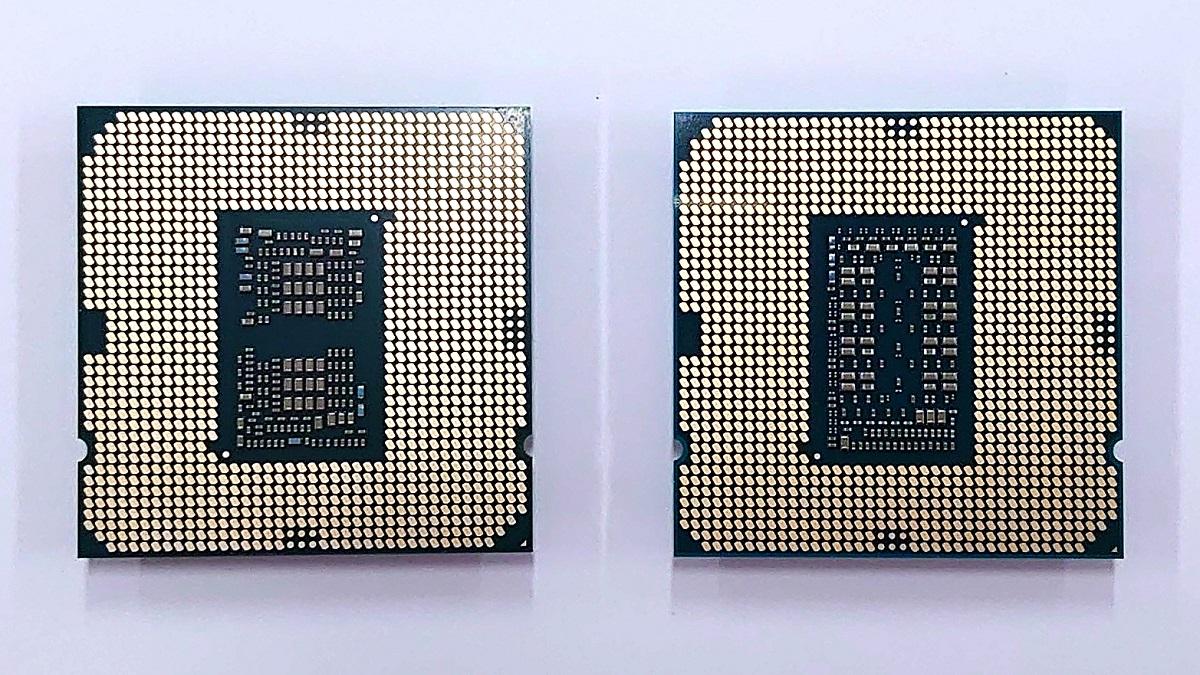 左:Core i9-10900K、右:Core i9-11900K 背面
