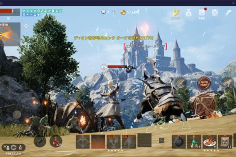 リネージュ2M パープル(PURPLE) PC版をベンチマーク検証のイメージ画像