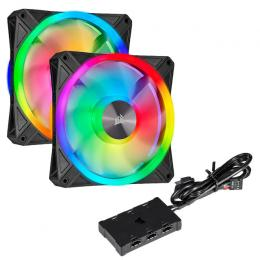 QL140 RGB Dual Fan Kit (CO-9050100-WW)