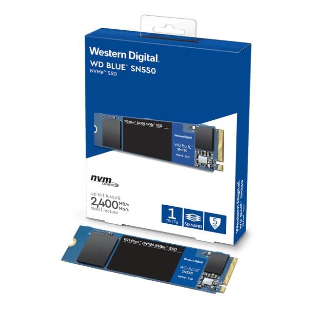 Western Digital WD Blue SN550 NVMeシリーズ