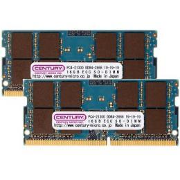 CK16GX2-SOD4U2666 [SODIMM DDR4 PC4-21300 16GB 2枚組]