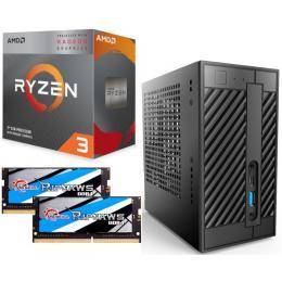 AMD Ryzen 3 3200G + DeskMini A300 + メモリ 16GB×2枚 3点セット