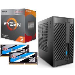 AMD Ryzen 3 3200G + DeskMini A300 + メモリ 8GB×2枚 3点セット