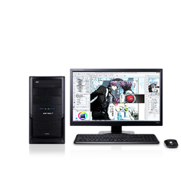 先着40名様限定!CLIP STUDIO PAINT推奨パソコンStarterPackをご購入で解説本をプレゼント!