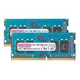 CK8GX2-SOD4U2133H [SODIMM DDR4 PC4-17000 8GB 2枚組]