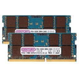 CK16GX2-SOD4U2400 [SODIMM DDR4 PC4-19200 16GB 2枚組]