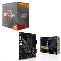 AMD Ryzen 3 3100 BOX + ASUS TUF GAMING B550-PLUS セット