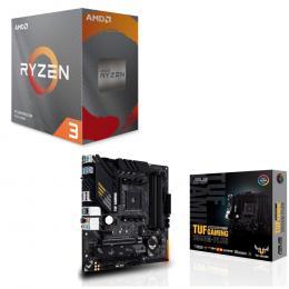AMD Ryzen 3 3100 BOX + ASUS TUF GAMING B550M-PLUS セット