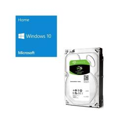Windows 10 Home 64Bit DSP + SEAGATE ST4000DM004 バンドルセット