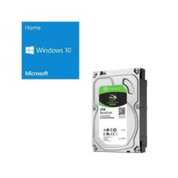 Windows 10 Home 64Bit DSP + SEAGATE ST3000DM007 バンドルセット