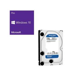 Windows 10 Pro 64Bit DSP + Western Digital WD20EZAZ-RT バンドルセット