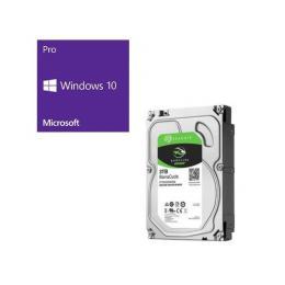 Windows 10 Pro 64Bit DSP + SEAGATE ST3000DM007 バンドルセット
