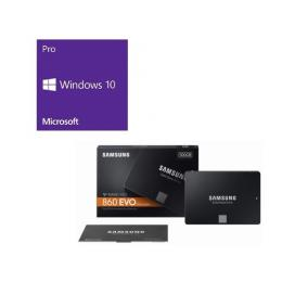 Windows 10 Pro 64Bit DSP + SAMSUNG 860 EVO MZ-76E500B/IT バンドルセット