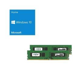 Windows 10 Home 64Bit DSP + CFD W4U2666CM-16G バンドルセット