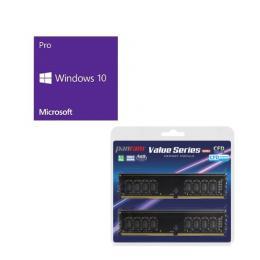 Windows 10 Pro 64Bit DSP + CFD W4U2666PS-8GC19 バンドルセット