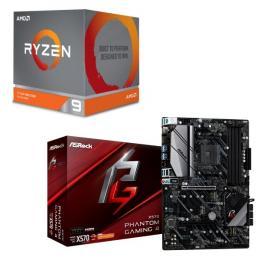 AMD Ryzen 9 3900X BOX + ASRock X570 Phantom Gaming 4 セット
