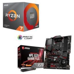 AMD Ryzen 7 3800X BOX + MSI MPG X570 GAMING PLUS セット