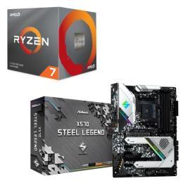 AMD Ryzen 7 3800X BOX + ASRock X570 Steel Legend セット