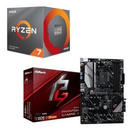 AMD Ryzen 7 3800X BOX + ASRock X570 Phantom Gaming 4 セット