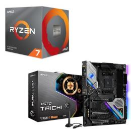 AMD Ryzen 7 3700X BOX + ASRock X570 Taichi セット