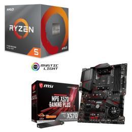 AMD Ryzen 5 3600X BOX + MSI MPG X570 GAMING PLUS セット